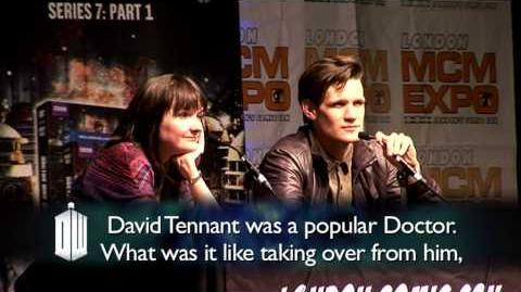 Q & A with Matt Smith and Caroline Skinner Part 1 - Doctor Who - BBC