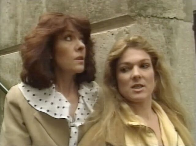 File:Sarah Jane Smith Kate Lethbridge Stewart Downtime.jpg