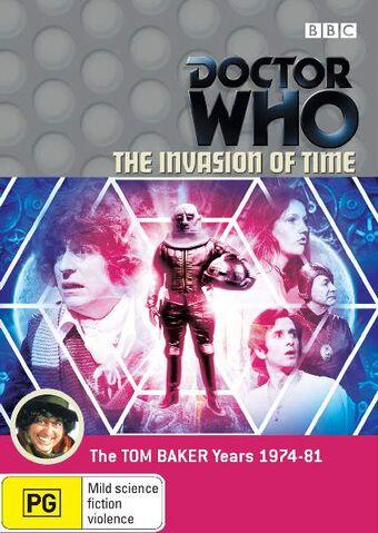 File:The Invasion of Time DVD Australian cover.jpg