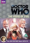 Doctor Who The Mind of Evil DVD Region 2 UK cover