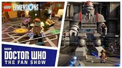 LEGO Dimensions Easter Eggs - Doctor Who The Fan Show