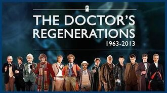ALL The Doctor's Regenerations (1963 - Present) - Doctor Who - BBC