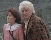 Third Doctor w older Sarah