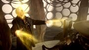 War Doctor Regenerating