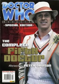Fifth Doctor DW Magazine