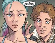 Eighth Doctor issue 1 A monster Josie