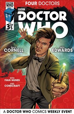 Four Doctors Issue 3 Cover 1