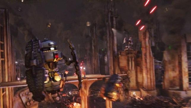 Dalek Fighter Pods swarm Arcadia