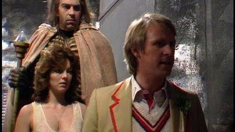 Nyssa leaves the Doctor - Doctor Who - Terminus - BBC