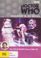 Revelation of the Daleks DVD Australian Region 4