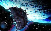 Krulius' spaceship
