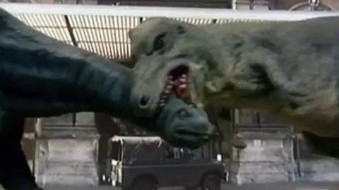 Special DVD Feature Dinosaur FX in Invasion of the Dinosaurs - Doctor Who - BBC