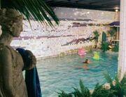 TARDIS swimming pool