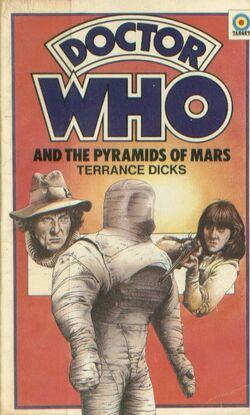 Pyramids of Mars novel