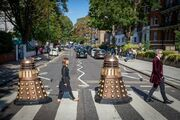 Abbey Road Doctor Who Spoof mini