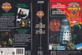 The Sontaran Experiment Genesis of the Daleks VHS Australian folded out cover