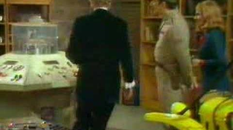 Brigadier vs the Doctor - Doctor Who - BBC classic sci-fi