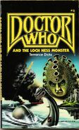 Doctor Who and the Loch Ness Monster Pinnacle edition Yellow logo