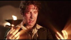 Eighth Doctor Regenerates into War Doctor - Paul McGann to John Hurt - Doctor Who - BBC
