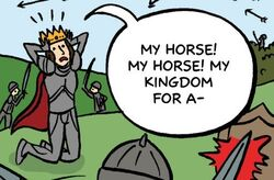 10DY1 15 A Horse a Horse King