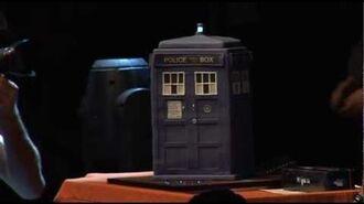 Matt Smith's AMAZING TARDIS birthday cake - from London Comic Con 2012 - Doctor Who - BBC