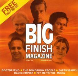 Big Finish Magazine issue 1