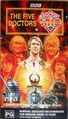 The Five Doctors 1990 VHS Au