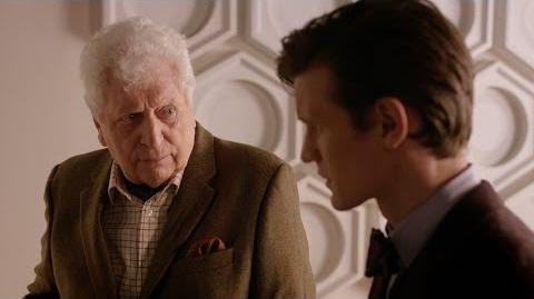 *PLOT SPOILERS* Tom Baker returns in The Day of the Doctor - Doctor Who 50th Anniversary - BBC