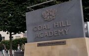 Coal Hill Academy sign