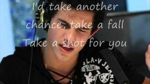 Apologize - Taylor Lautner (Lyrics)