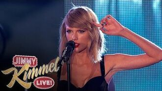 "Taylor Swift Performs ""Out of the Woods""-1"