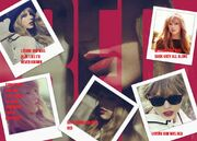 Taylor Swift - Red collage