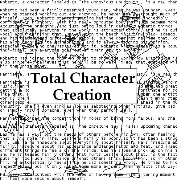 TotalCharacterCreation!