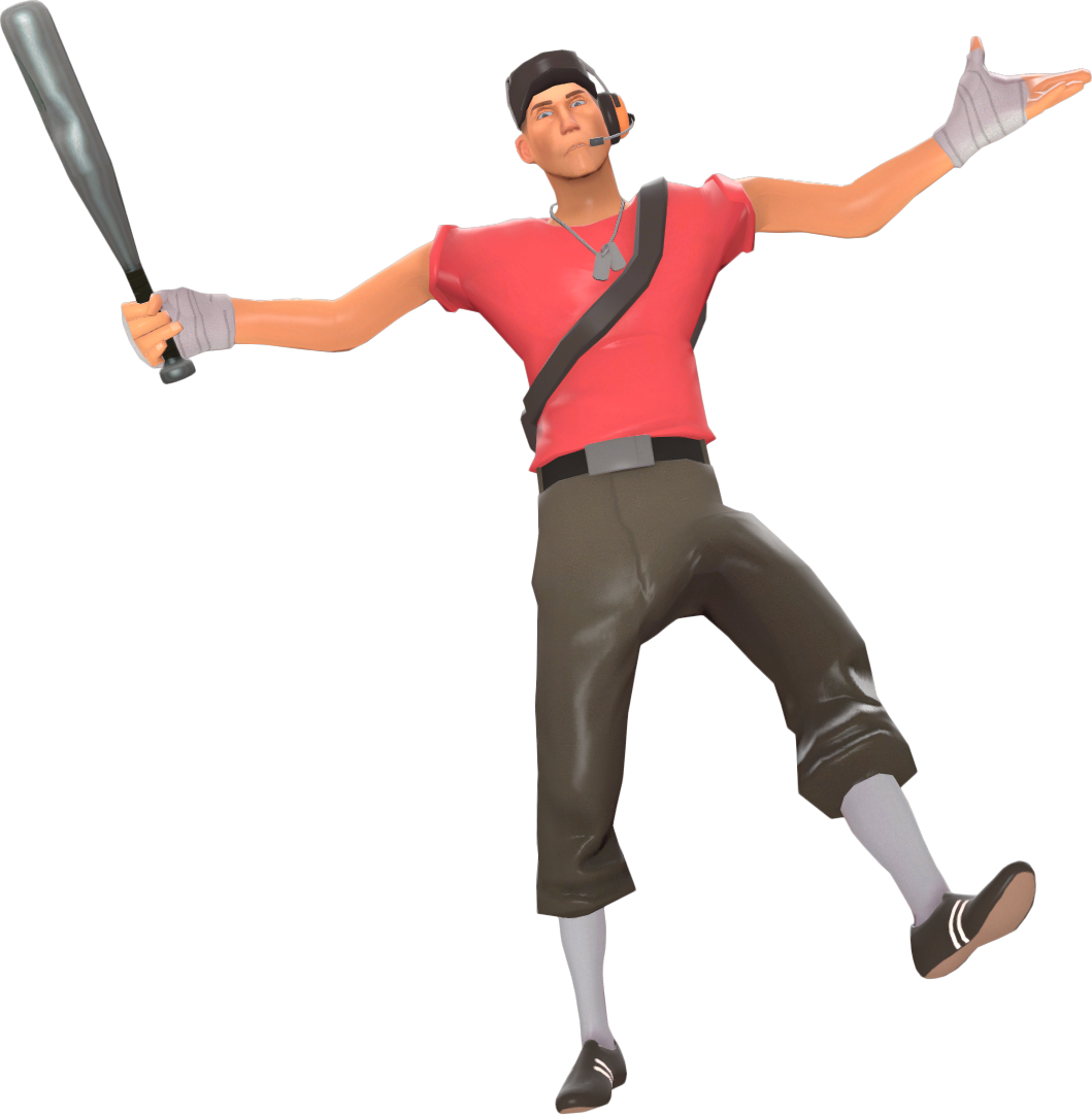 Image - Scout taunting with the Bat TF2.png | Team ...