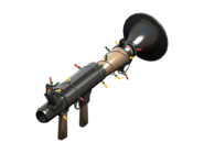 Item icon Festive Rocket Launcher