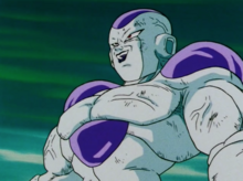 Powered up Freeza