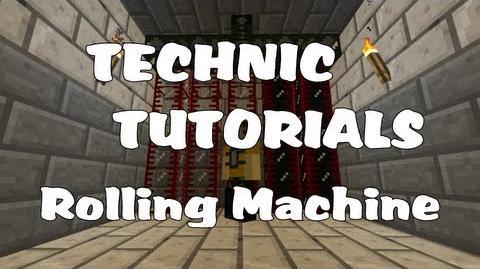 rolling machine minecraft