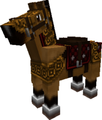 Gold-horse-armor