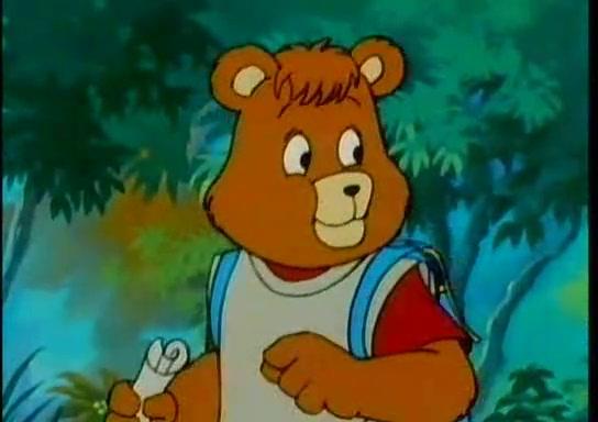 L orso o cane assomiglia a teddy ruxpin