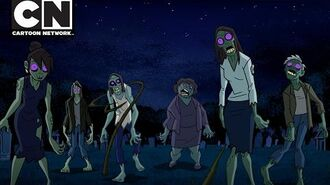 Justice League Action Zombie Takeover Cartoon Network