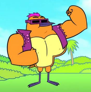 Muscle Teen Titans Go Wiki Fandom Powered By Wikia