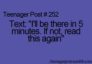 Teenager Post 252