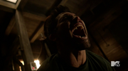 Teen Wolf Season 3 Episode 4 Unleashed Kali impales Derek