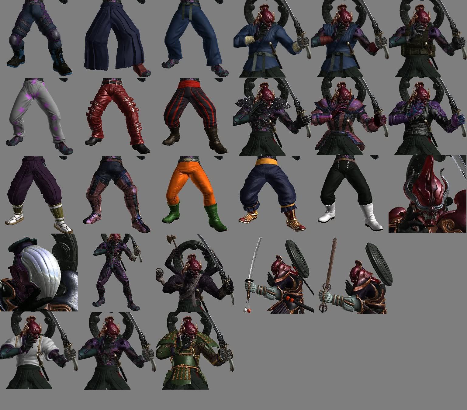 Image - Tekken Tag Tournament 2 Yoshimitsu Customization ...