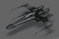 Twilight Jedi T65 XJ7 X-Wing