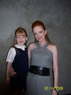 Mackenzie Smith and Shirley Manson