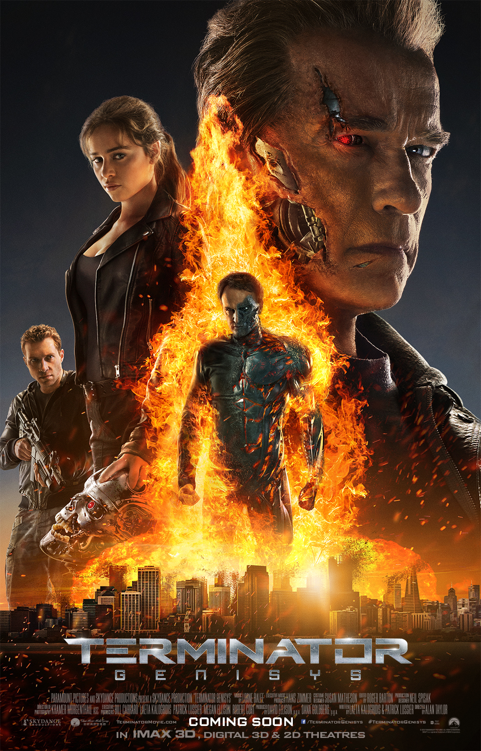 Terminator Genisys in 3D 2015 Full Length Movie