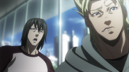 Marcos and Alex annoyed from Akari