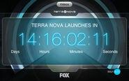 Terra Nova Companion App countdown