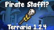 Pirate Staff , Pirate Summons! - Terraria 1.2